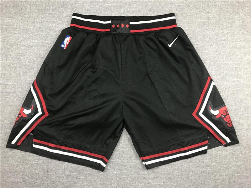Bulls Black Nike Shorts
