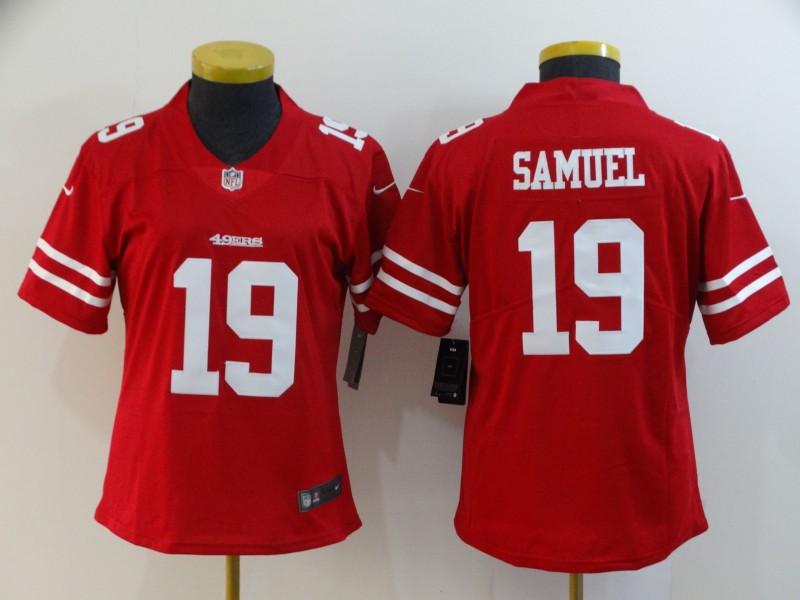Nike Steelers 19 JuJu Smith-Schuster Red Women Vapor Untouchable Limited Jersey