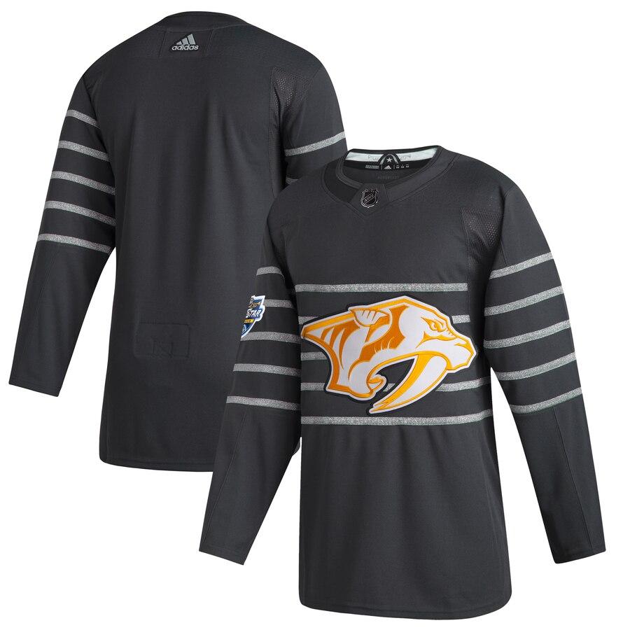 Predators Blank Gray 2020 NHL All-Star Game Adidas Jersey