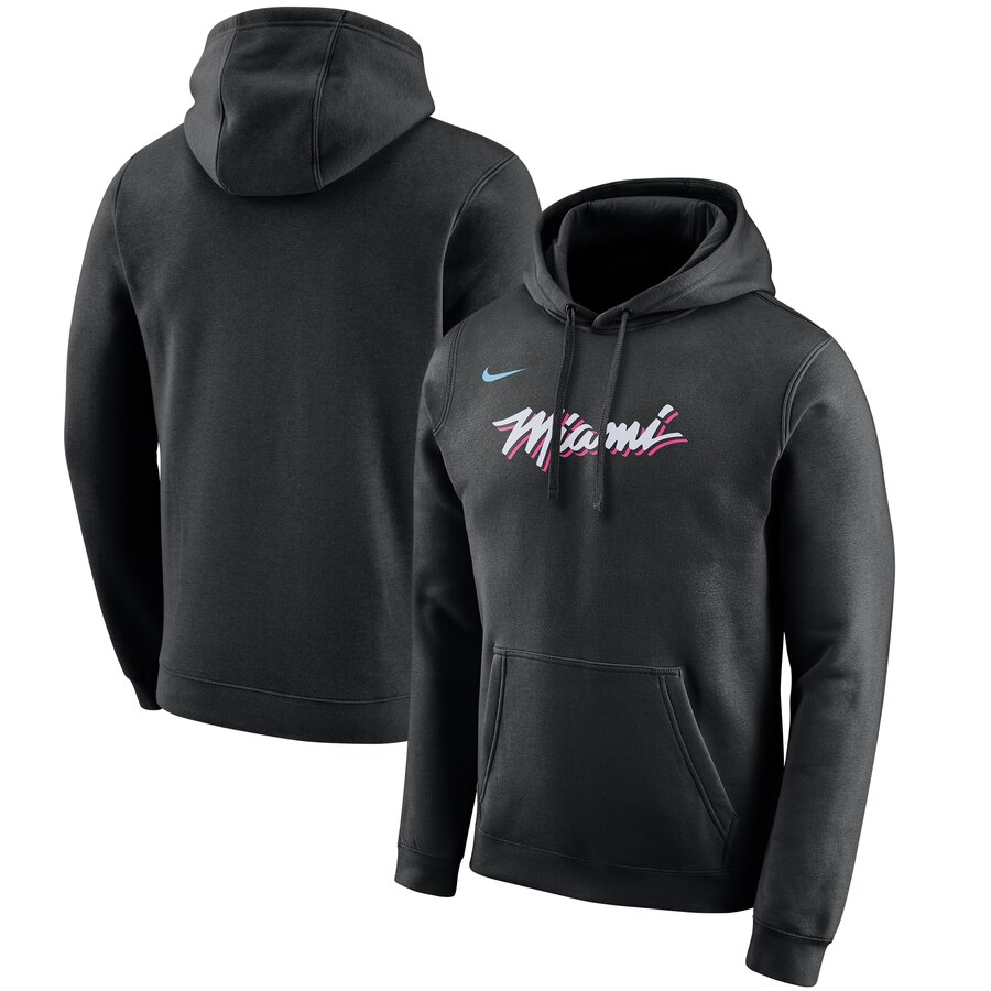 Miami Heat Nike 2019-20 City Edition Club Pullover Hoodie Black