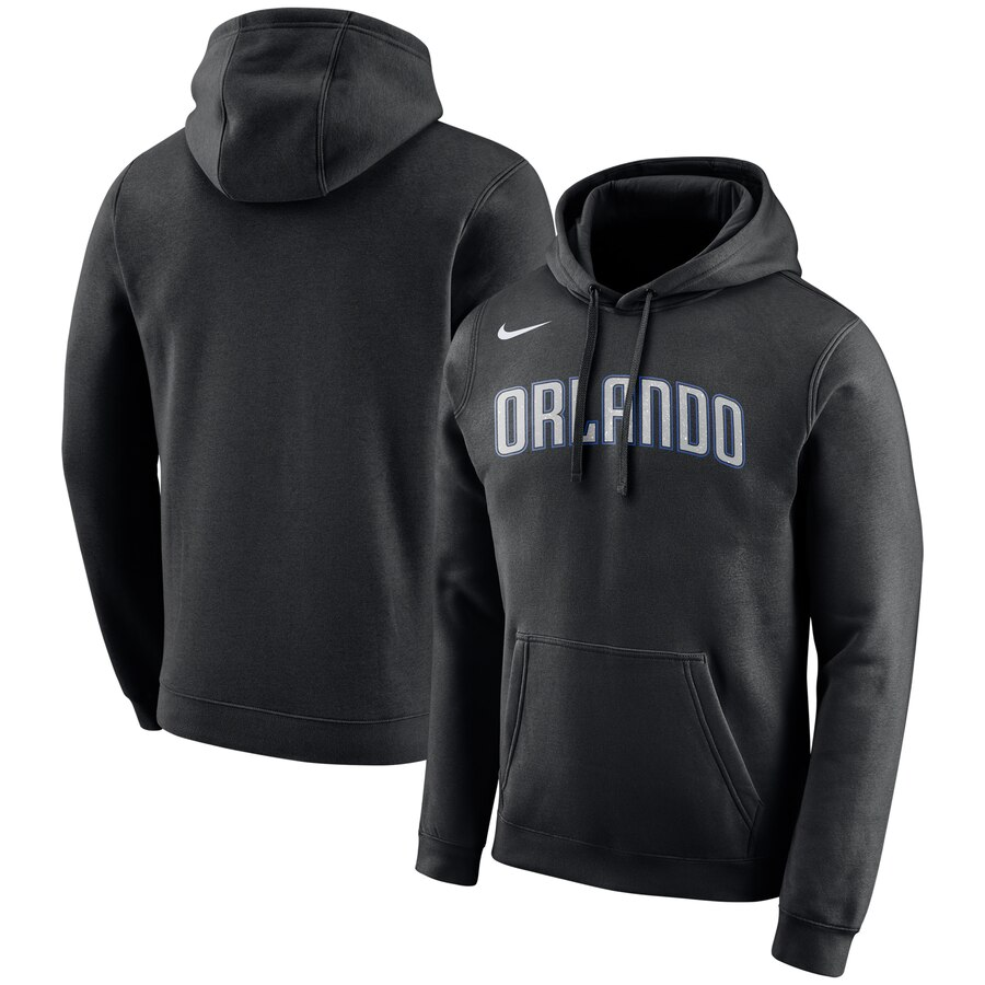 Orlando Magic Nike City Edition Logo Essential Pullover Hoodie Black