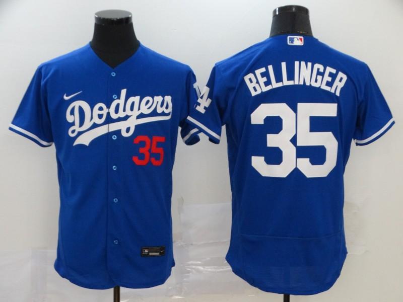 Dodgers 35 Cody Bellinger Royal 2020 Nike Flexbase Jersey