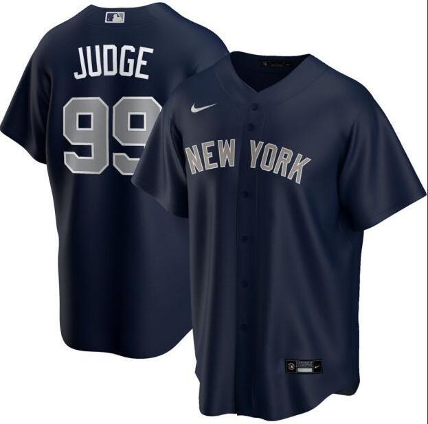Yankees 99 Aaron Judge Navy 2020 Nike Cool Base Jersey