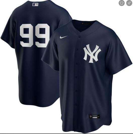 Yankees 99 Aaron Judge Navy 2020 Nike Cool Base Replica Jersey