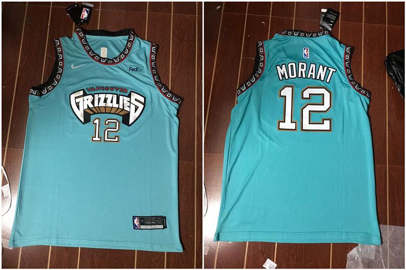 Grizzlies 12 Ja Morant Green Nike Swingman Jersey