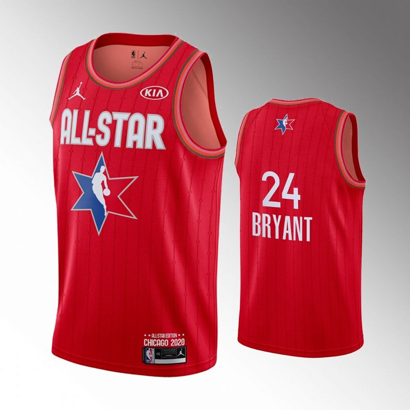 Lakers 24 Kobe Bryant Red 2020 NBA All-Star Jordan Brand Swingman Jersey