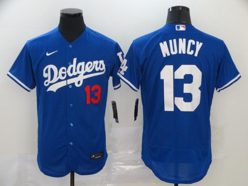 Dodgers 13 Max Muncy Royal 2020 Nike Flexbase Jersey