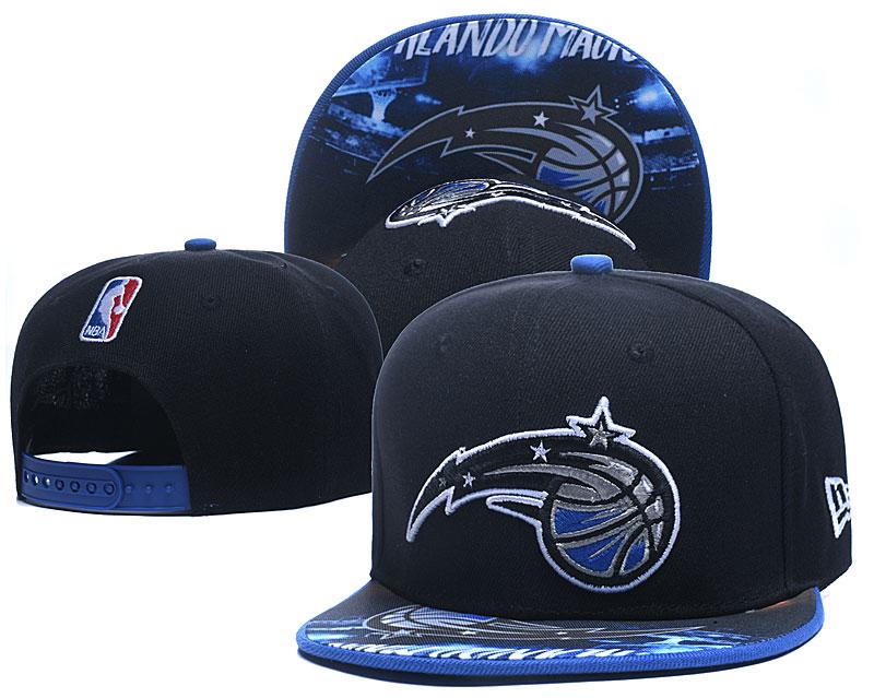 Magic Team Logo Black Adjustable Hat LH