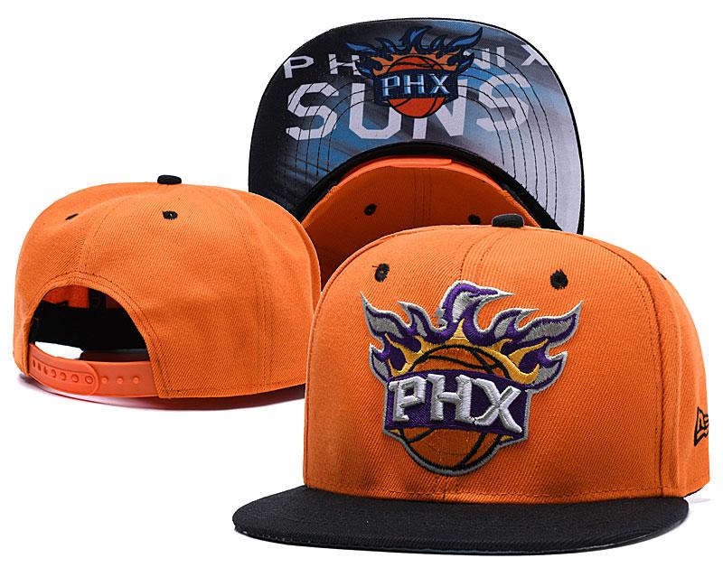 Suns Team Logo Orange Adjustable Hat LH.jpeg