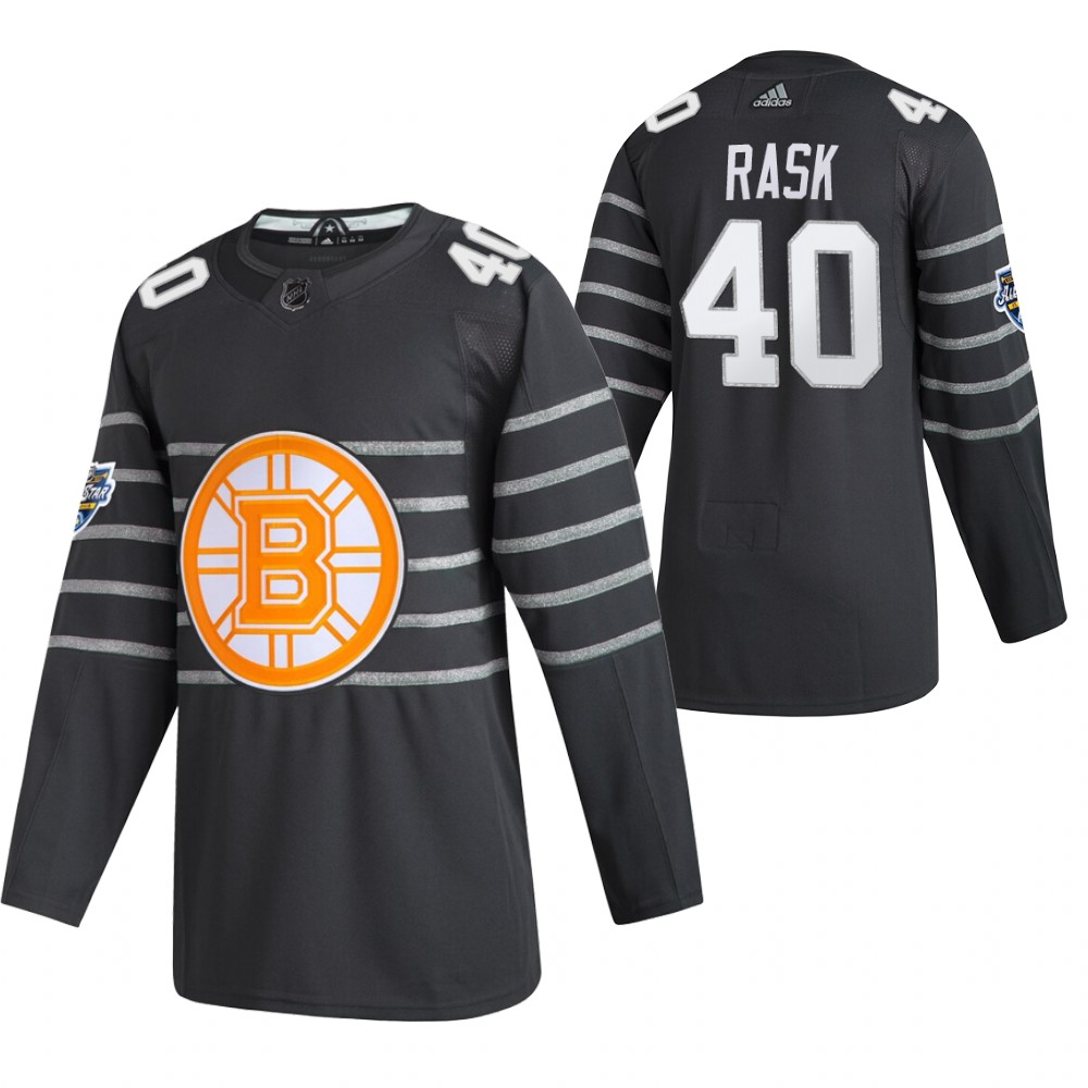 Bruins 40 Tuukka Rask Gray 2020 NHL All-Star Game Adidas Jersey