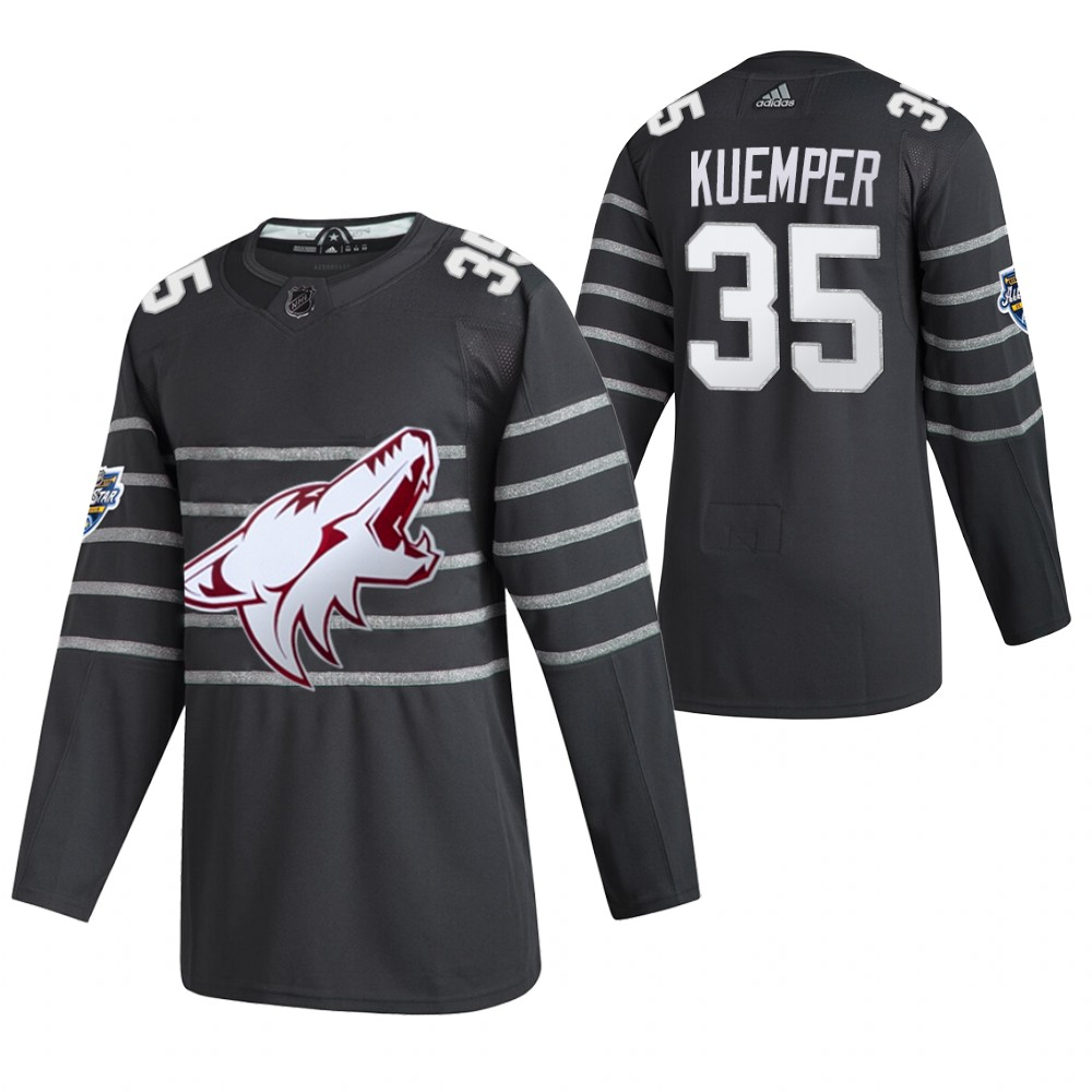 Coyotes 35 Darcy Kuemper Gray 2020 NHL All-Star Game Adidas Jersey