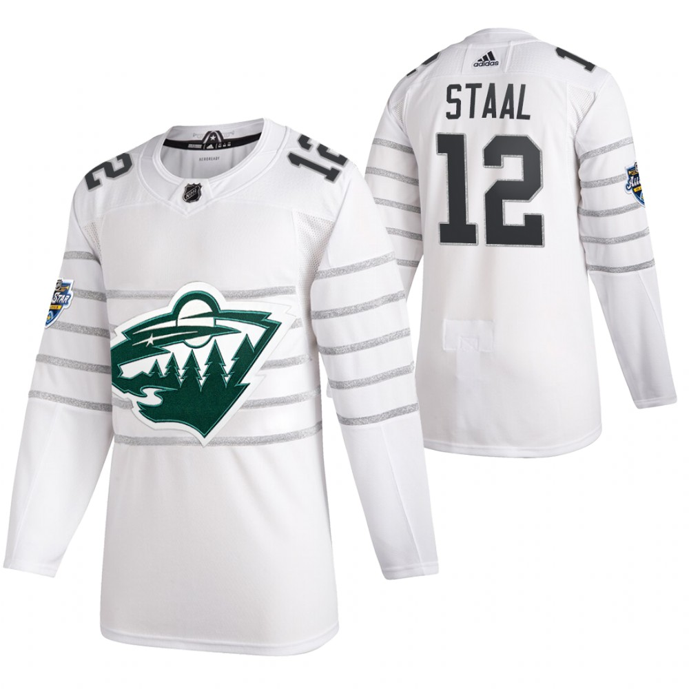 Wild 12 Eric Staal White 2020 NHL All-Star Game Adidas Jersey
