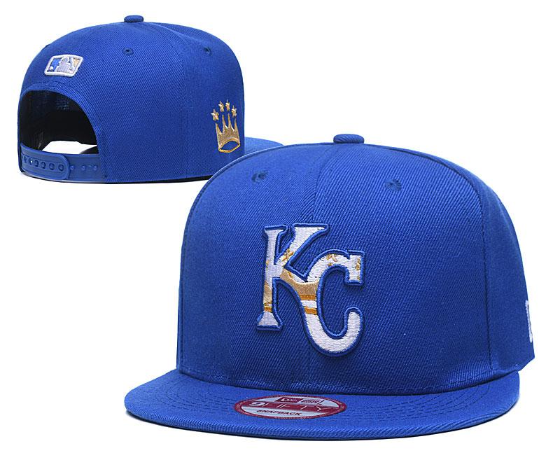 Royals Team Logo Royal Adjustable Hat LT
