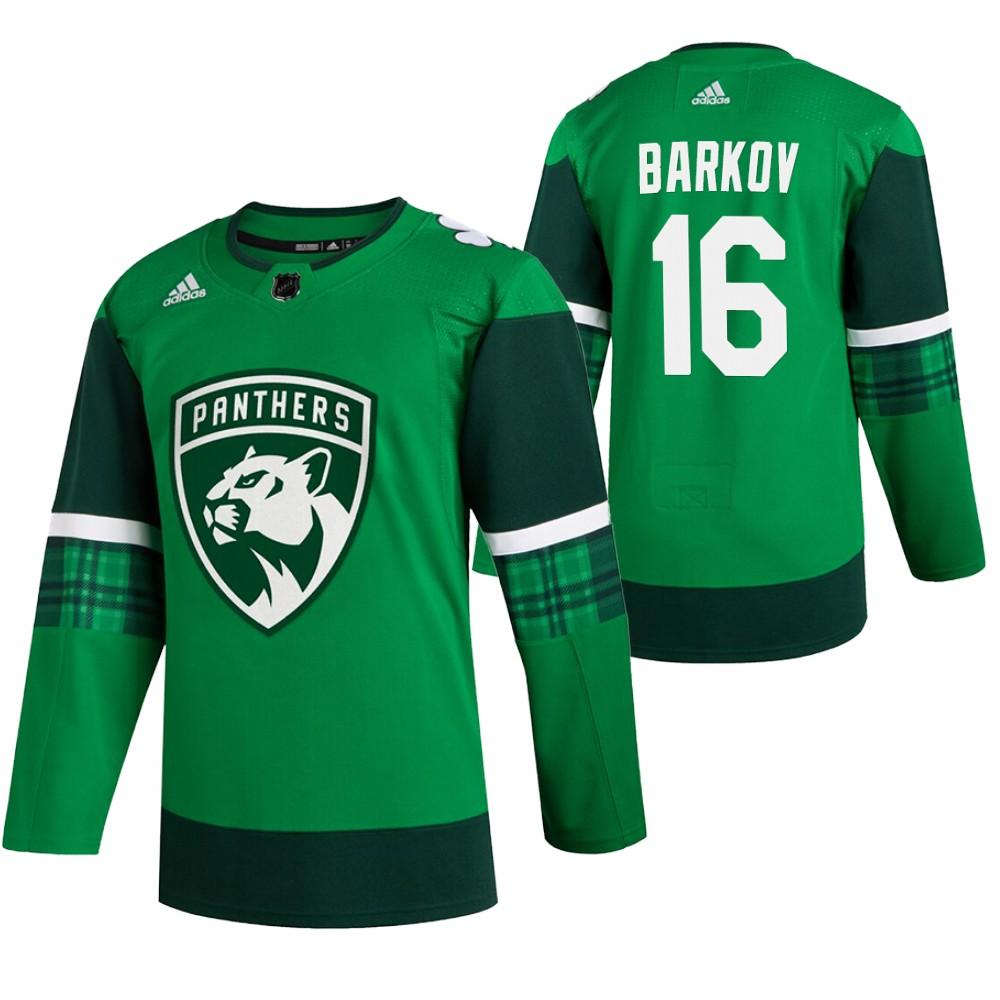 Panthers 16 Aleksander Barkov Green 2020 Adidas Jersey.jpeg