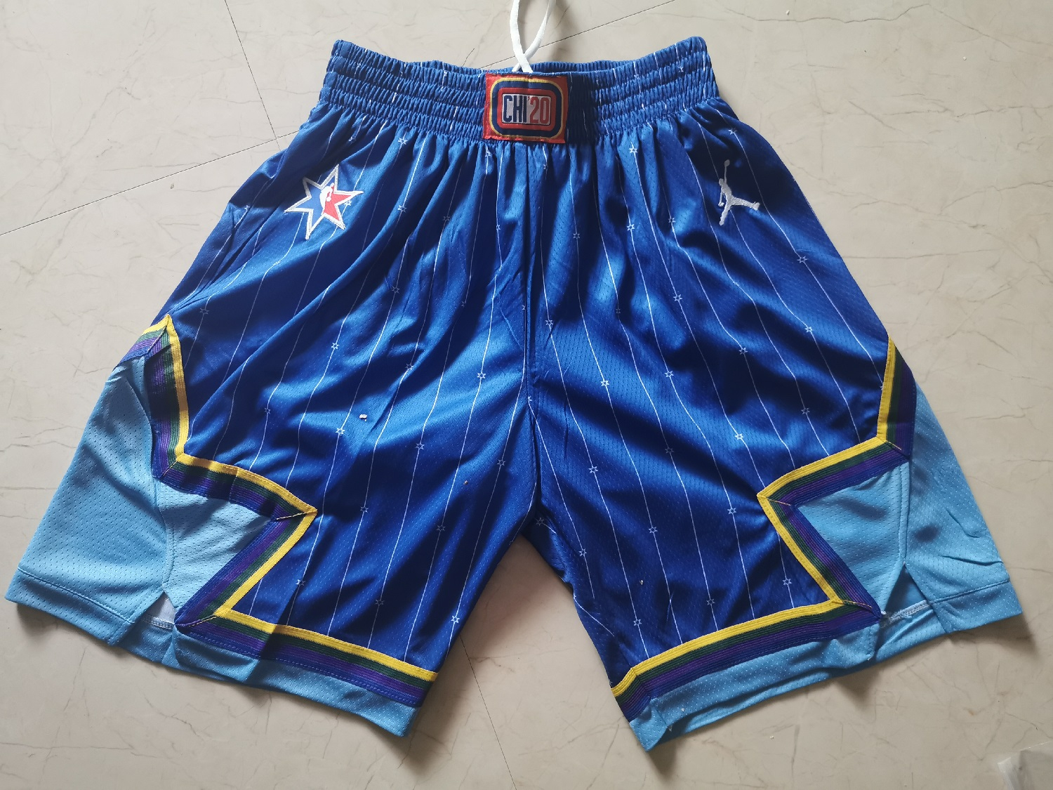 Bulls 2020 NBA All-Star Blue Jordan Brand Swingman Shorts