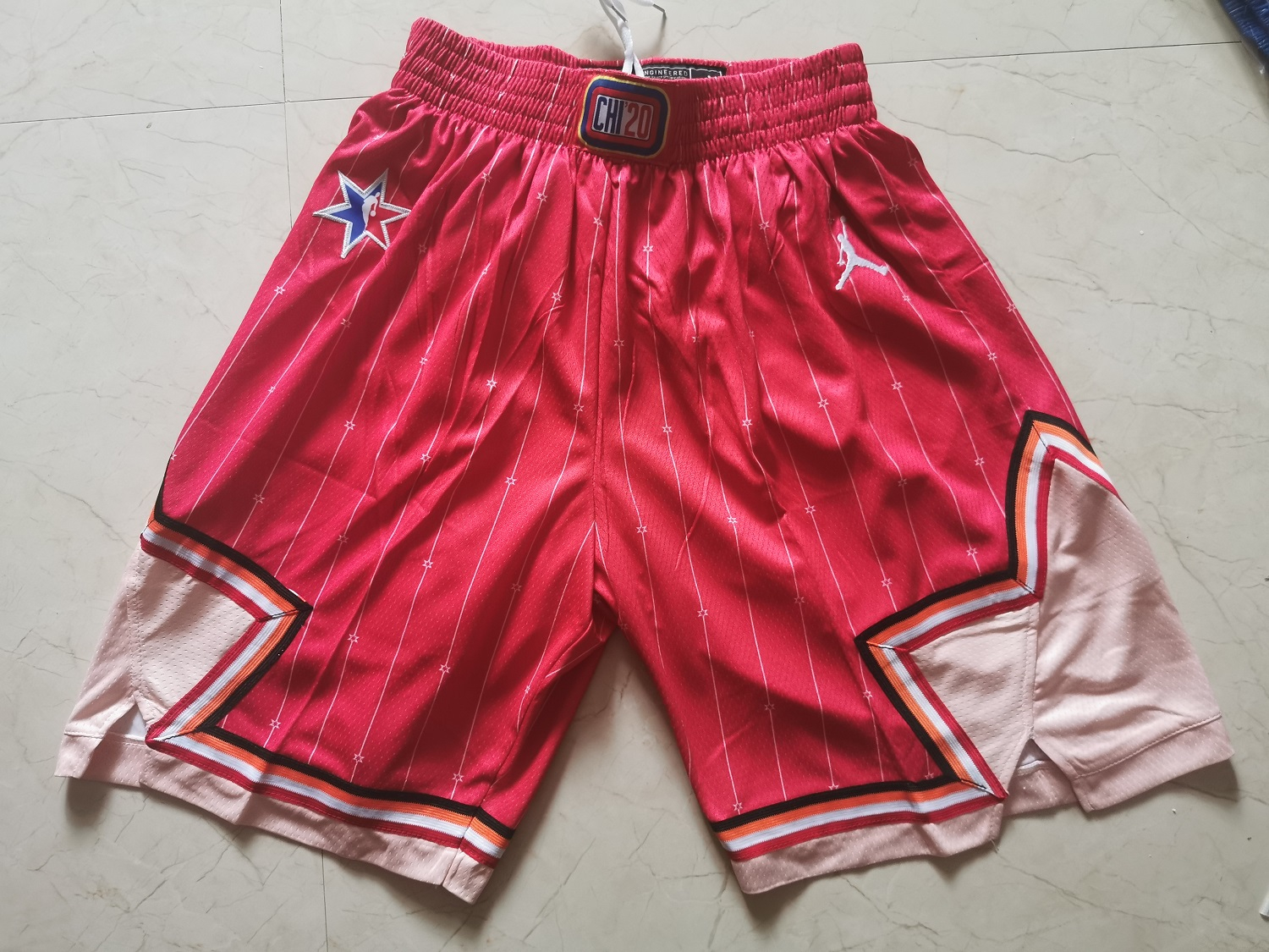 Bulls 2020 NBA All-Star Red Jordan Brand Swingman Shorts