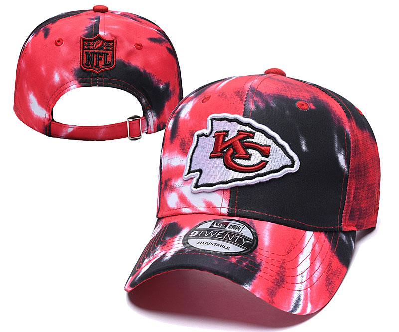 Chiefs Team Logo Red Peaked Adjustable Hat YD