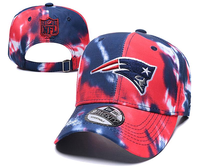 Patriots Team Logo Red Peaked Adjustable Hat YD