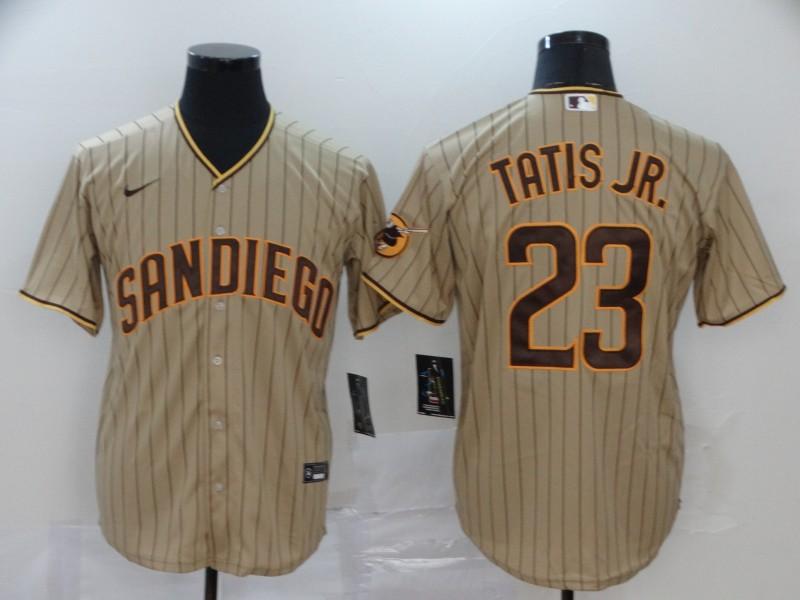 Padres 23 Fernando Tatis Jr. Brown Nike 2020 Flexbase Jersey