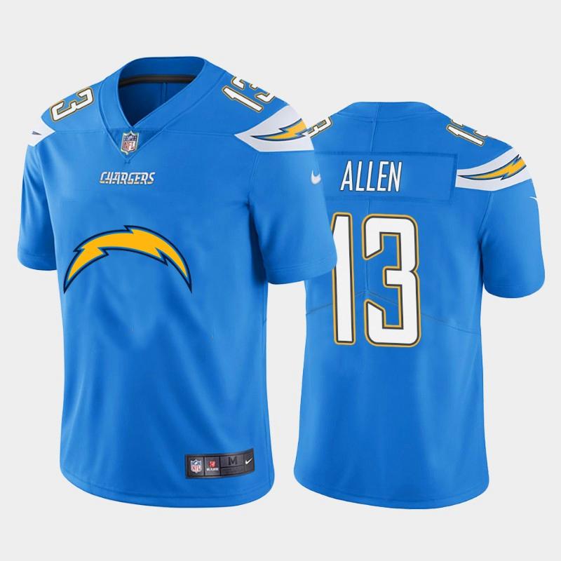 Nike Chargers 13 Keenan Allen Blue Team Big Logo Vapor Untouchable Limited Jersey