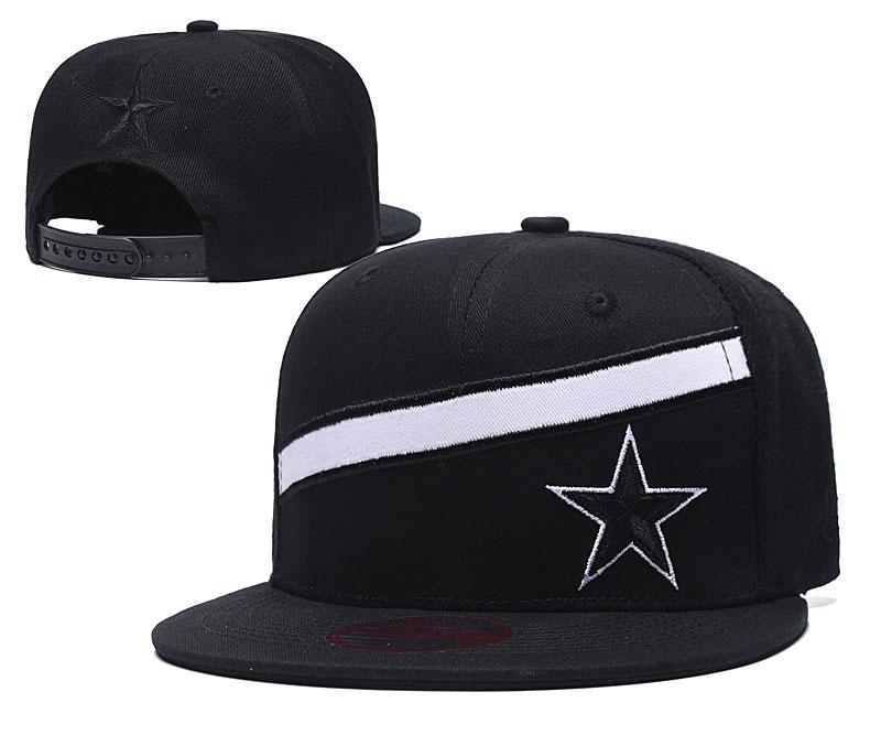 Cowboys Team Logo Black Adjustable Hat LT