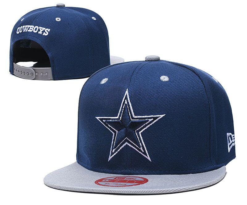 Cowboys Team Logo Navy Adjustable Hat LT