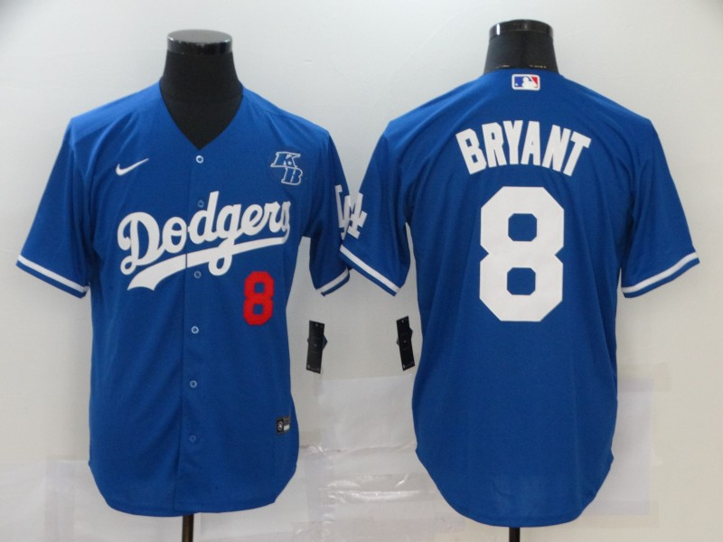 Dodgers 8 Kobe Bryant Royal 2020 Nike KB Cool Base Jersey