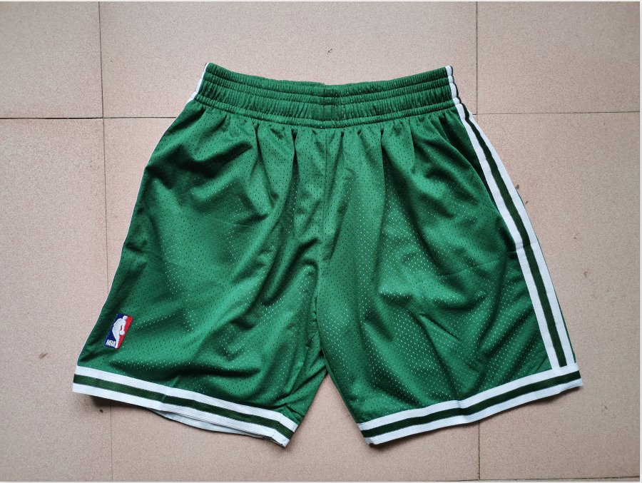 Celtics Green Mitchell Ness Mesh Swingman Shorts