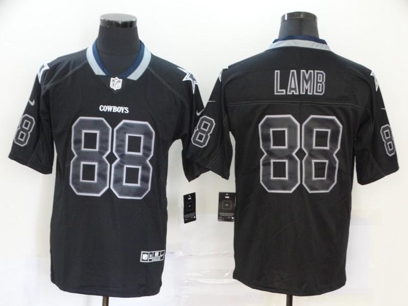 Nike Cowboys 88 Ceedee Lamb Black Shadow Legend Limited Jersey