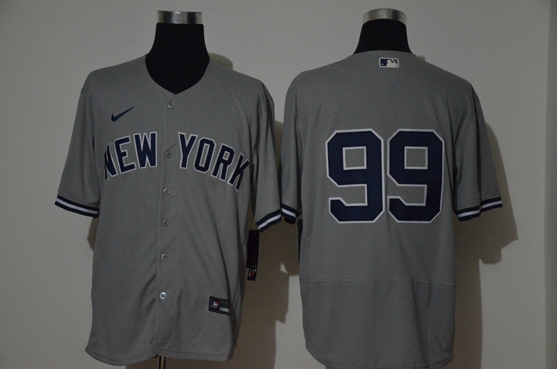 Yankees 99 Aaron Judge Gray 2020 Nike Flexbase Jersey