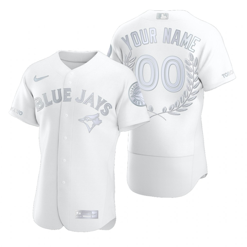 Blue Jays Customized White Nike Flexbase Fashion Jersey
