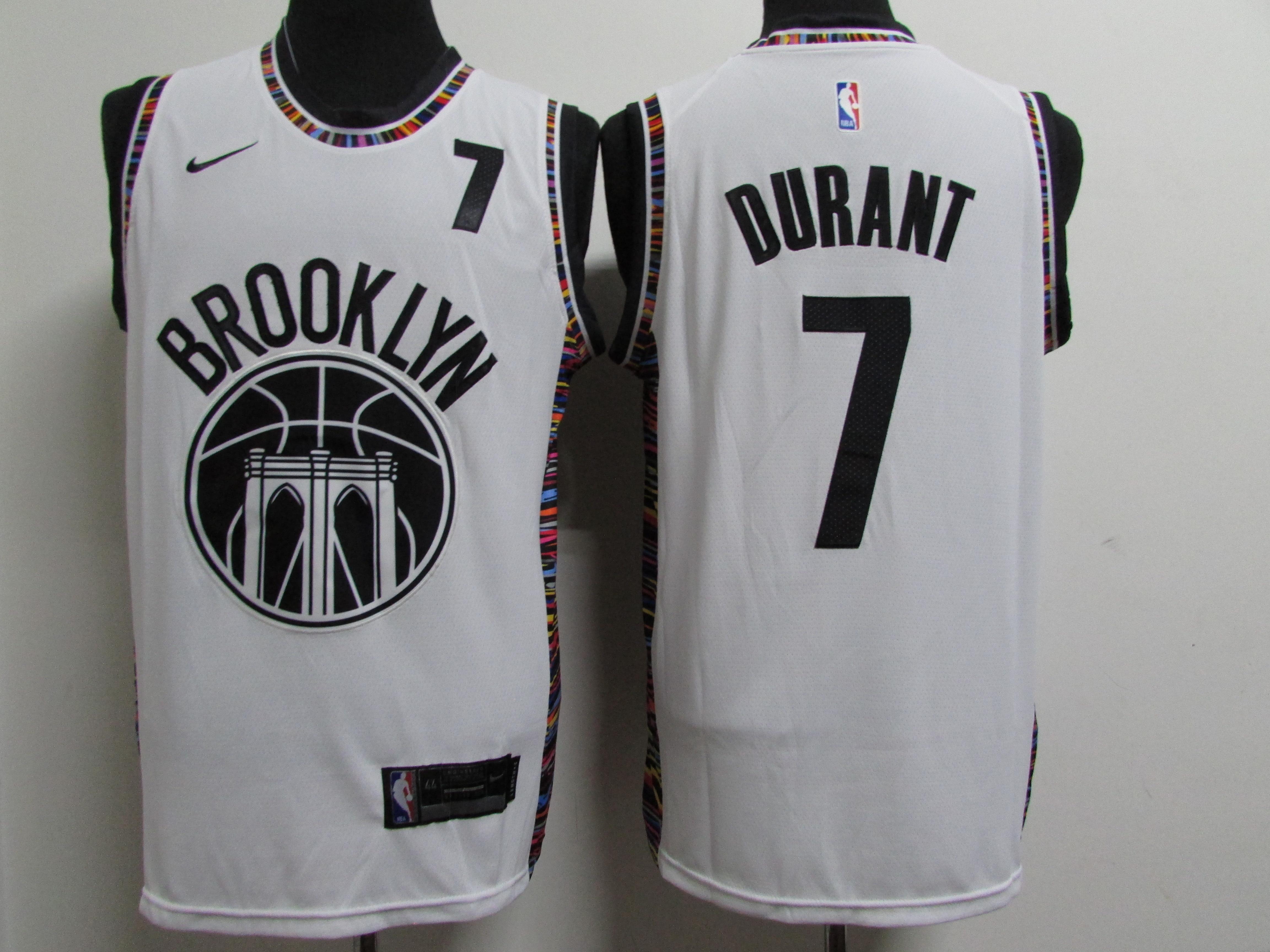 Nets 7 Kevin Durant White 2020-2021 City Edition Nike Swingman Jersey.jpeg