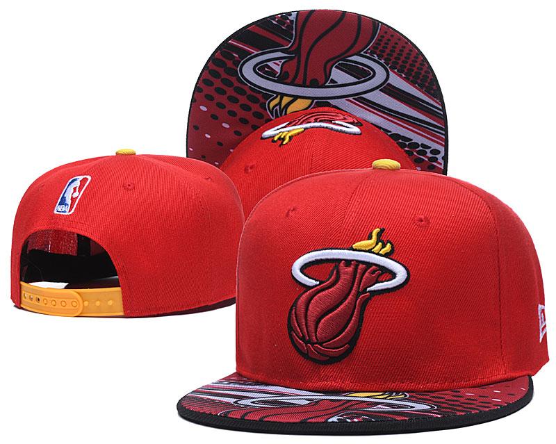 Heat Team Logo Red Adjustable Hat LH