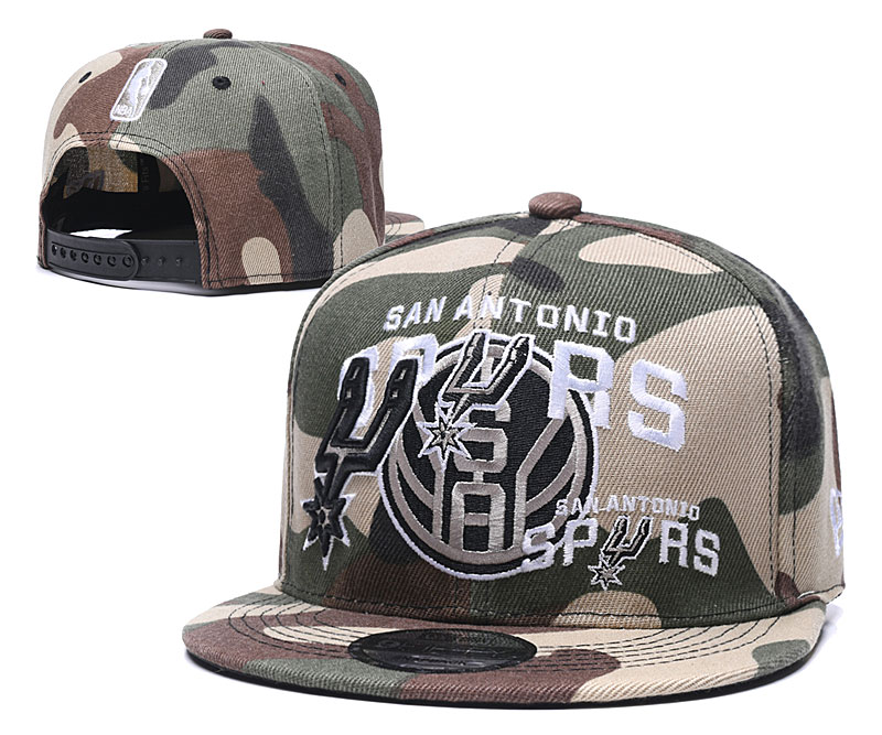 Spurs Team Logo Olive Adjustable Hat LH