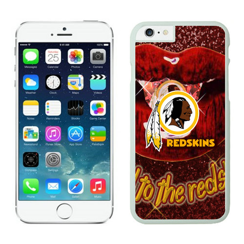 Washington Redskins iPhone 6 Plus Cases White15