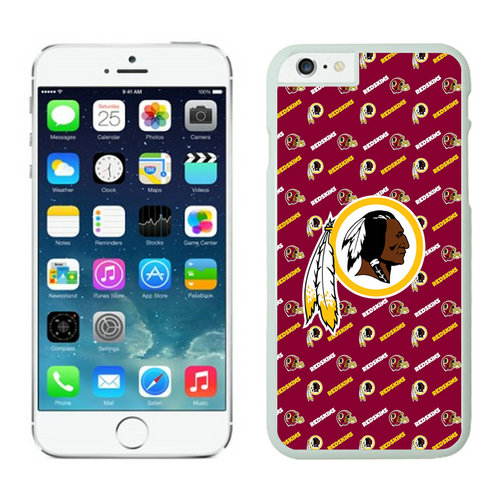 Washington Redskins iPhone 6 Plus Cases White18