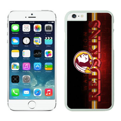Washington Redskins iPhone 6 Plus Cases White21