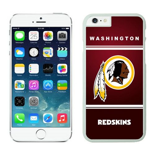 Washington Redskins iPhone 6 Plus Cases White30