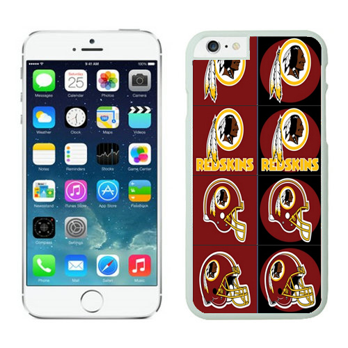 Washington Redskins iPhone 6 Plus Cases White42