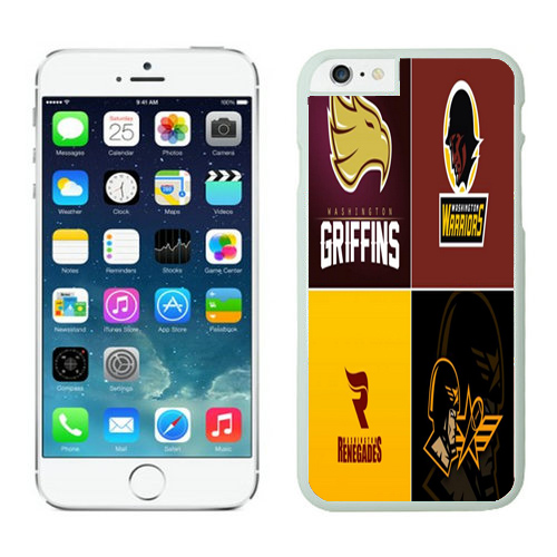 Washington Redskins iPhone 6 Cases White44