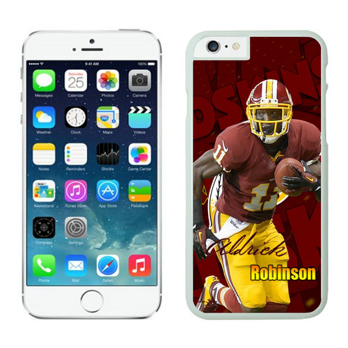 Washington Redskins iPhone 6 Plus Cases White46