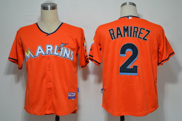 Miami Marlins 2 Ramirez Orange 2012 Jerseys