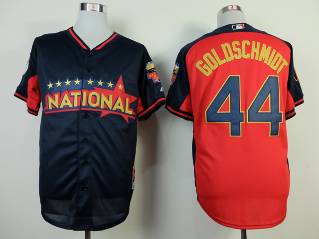 National League Diamondbacks Twins 44 Goldschmidt Red 2014 All Star Jerseys