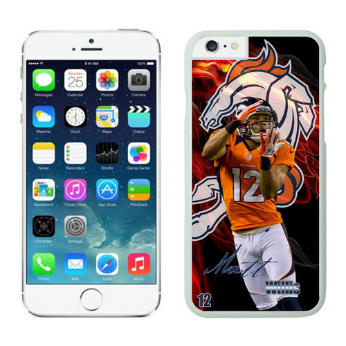 Denver Broncos iPhone 6 Cases White15