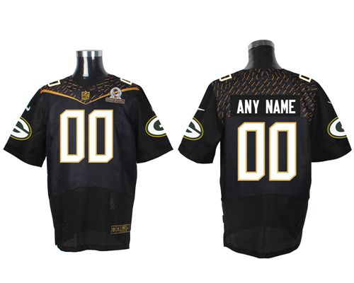Nike Packers 56 Julius Peppers Black 2016 Pro Bowl Elite Jersey