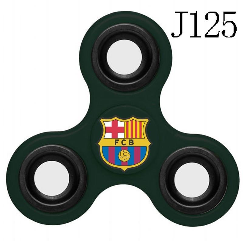 Barcelona Team Logo Green 3 Way Fidget Spinner