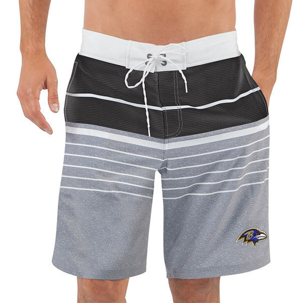 Baltimore Ravens NFL G-III Balance Men's Boardshorts Swim Trunks