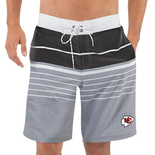 Kansas City Chiefs NFL G-III Balance Men's Boardshorts Swim Trunks