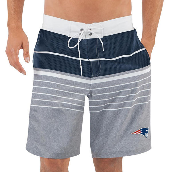 New England Patriots NFL G-III Balance Men's Boardshorts Swim Trunks