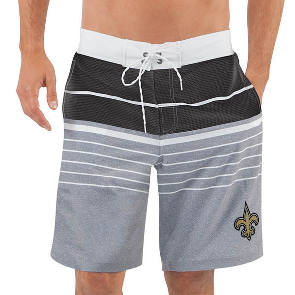New Orleans Saints NFL G-III Balance Men's Boardshorts Swim Trunks